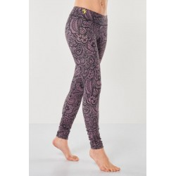 Yoga Leggings Bhaktified Anjali – Jungle Orchid