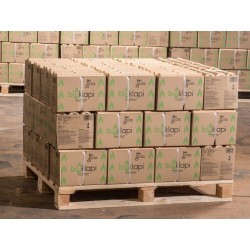 Bioklapi,  Lavalla 45 laatikkoa, 580kg